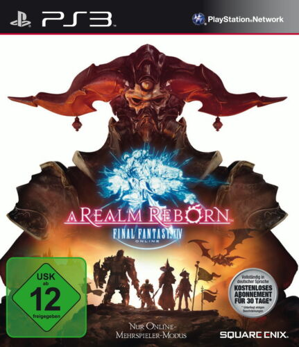 1 von 1 - Final Fantasy XIV: A Realm Reborn - PlayStation 3 / PS3 - USK 12 - NEUWARE / OVP