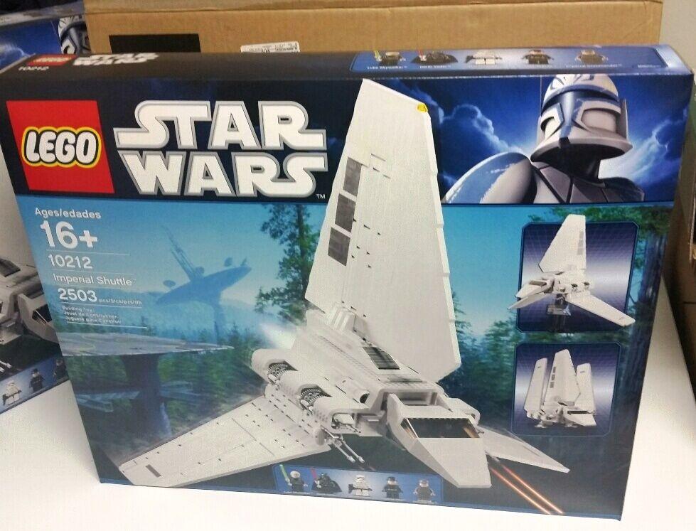 LEGO Star Wars Imperial Shuttle  10212  Nuovo In Sealed Box retirosso