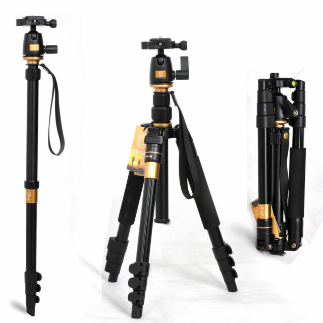 Professional Ball Head Tripod for Digital Canon Nikon Sony Camera DSLR WF-6662A