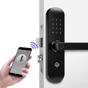 Details about Biometric Fingerprint Door Lock Keyless Entry Smart Security  WiFi RFID Unlock