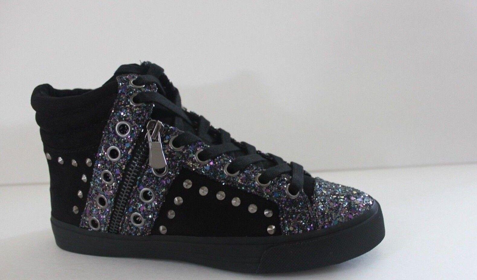 Gianni Bini Zapatillas Zapatos para mujer mujer mujer Talla 5.5 7.5 M De Tela Negro De Cuña  connotación de lujo discreta
