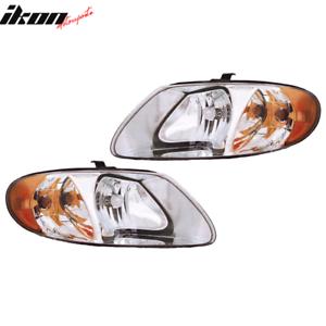 Fits 01-07 Dodge Caravan RH LH Headlights