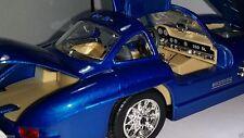 1954 Mercedes-Benz Vintage 300 SL Die cast Blue Color Auto Car 1 24 Scale Model