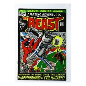 Amazing-Adventures-1970-series-13-in-Fine-condition-Marvel-comics-ix