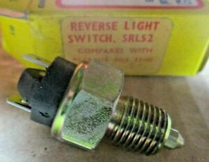 XRLS2 New Reversing Light Switch FITS: Alfa Romeo 33 1.2 1.3 1.4 1.5 1990-1995