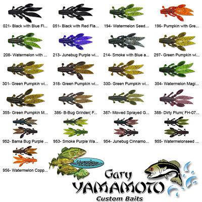 Yamamoto Flappin Hog FH-07-388 B-Bug Grinder 3.75 Inch Soft Plastic Craw Bait