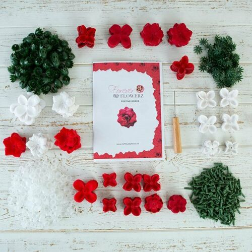 herramienta ideas de la Galería Craft amigo Forever Flowerz festivo Rosas Kit hacer 270