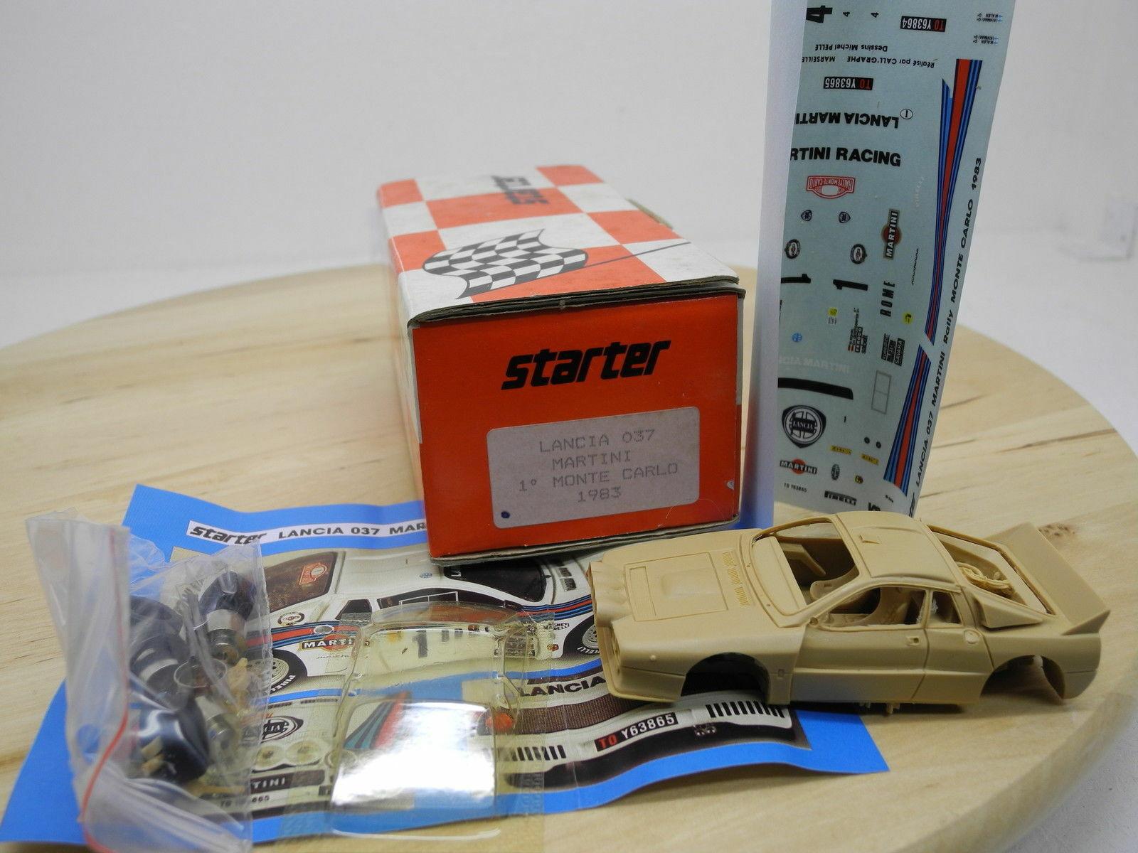 Kit Lancia 037 Martini  1 Rally Montecarlo 1983 - Starter kit 1 43