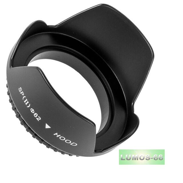 LUMOS Gegenlichtblende HB-N106 passt zu Nikon 1 Nikkor 10-100 mm VR J5 AW1 55mm