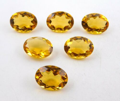 Good Quality Citrine Hydro Loose Gemstones P-546 Details about  /12 X 16 MM Oval Cut AAA++