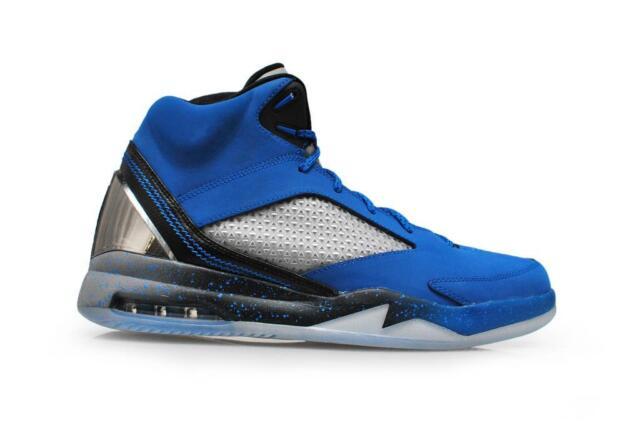 b5c63630b5d Mens Air Jordan Flight Remix - 679680-403 - Sport Blue Black Cool Grey  Trainers