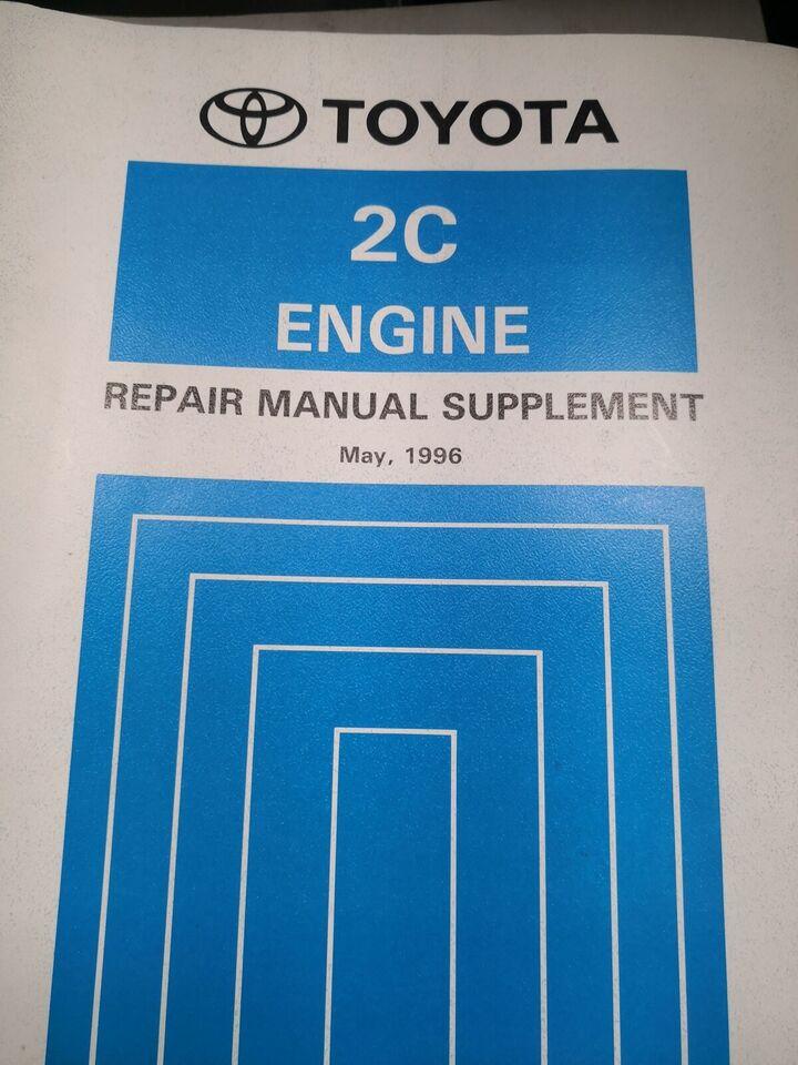 Motorbog, Toyota corolla motorbog/Supplement
