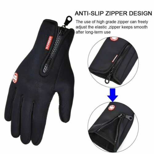 Winter Damen Herren Handschuhe Thermo Warme Windproof Touchscreen Wasserdicht