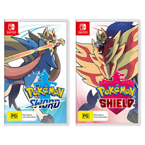 Pokemon Sword & Pokemon Shield Bundle Switch Game NEW