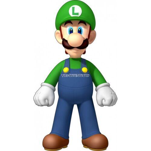 Stickers autocollant enfant Luigi Mario réf 9543