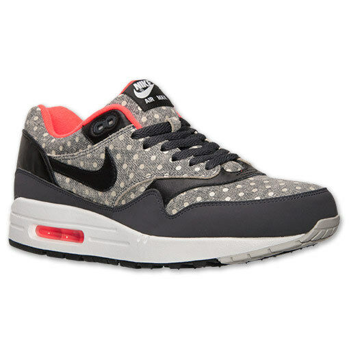 Men's Nike Air Max 1 Leather Premium Running shoes, 705282 002 Sizes 9-12