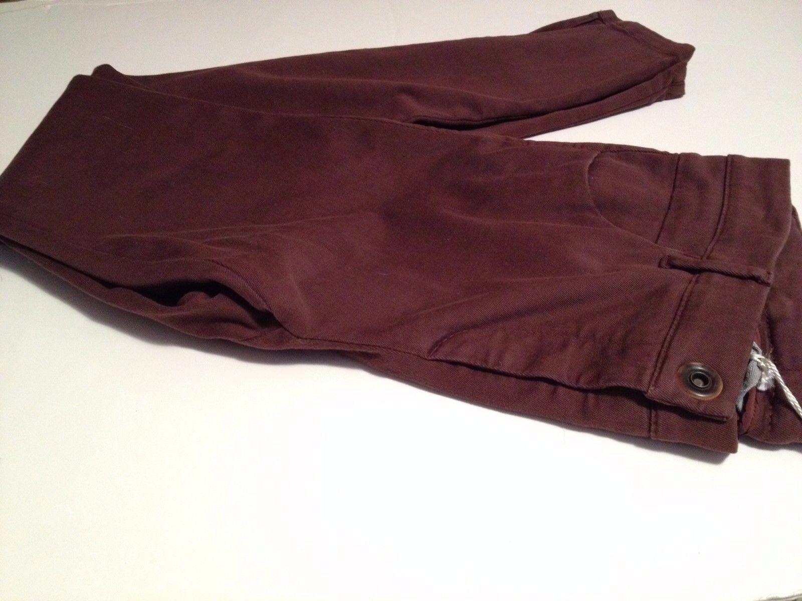 NWT Brunello Cucinelli Cotton Spandex  braun Skinny Jeans Pants  sz 10 FS