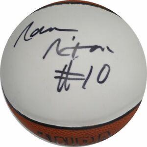 Norm-Nixon-Hand-Signed-Autographed-Mini-Basketball-Los-Angeles-Lakers-W-COA