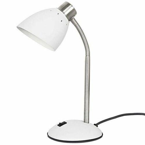 Leitmotiv Schreibtischlampe Dorm Mattweiß