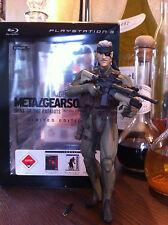 Metal Gear Solid Figur Old Snake Limited Edition Sehr Selten Rar Neuwertig