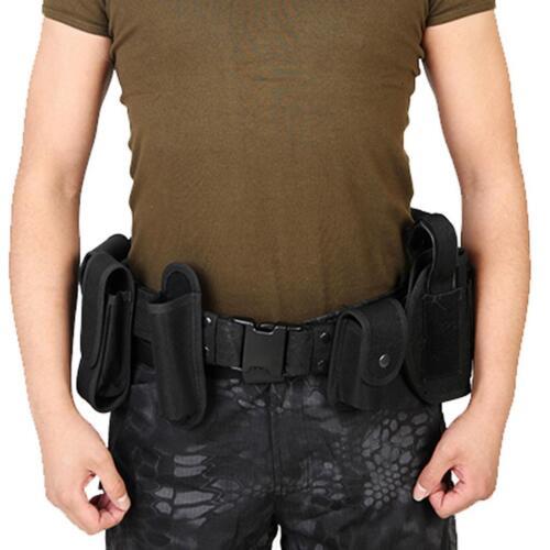 Garde Police Armée Utility Belt Waist Bag Kit de sécurité application de