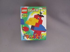 F289-JEU-LEGO-SYSTEM-FREE-STYLE-Ref-1838-BON-ETAT