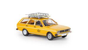 Brekina-25611-VW-Passat-Variant-034-Volkl-Testski-Team-Model-1-87-H0-Drummer