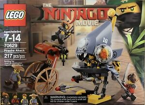 Details about Lego Ninjago Movie 70629 Piranha Attack With 4 Mini Figures -  New Box Set