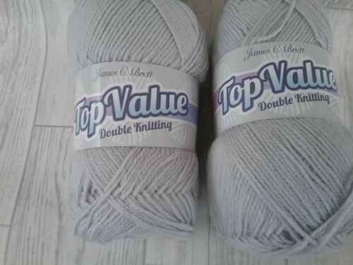 James C Brett Top Value Acrylic Double Knitting Wool//Yarn