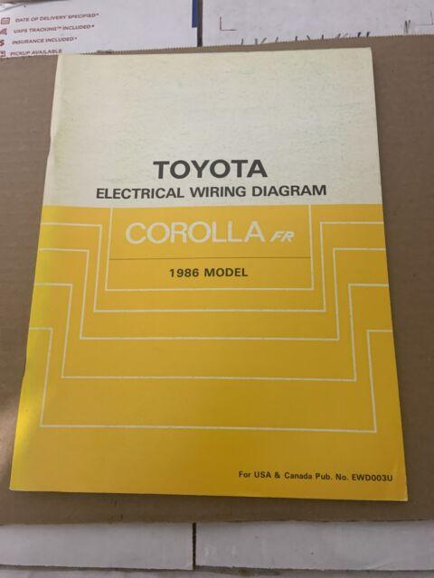 1986 Toyota Truck & 4Runner Electrical Wiring Diagram ...