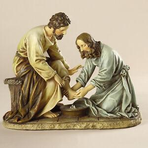 Joseph's Studio Jesus Washing Feet Figurine