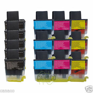 14 Pack Lc41 Compatible Ink Cartridge For Brother Mfc-5440cn Mfc-5840cn Mfc-215c
