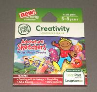 Adventure Sketchers Leap Frog Pad LeapPad 2 Explorer Creativity Game