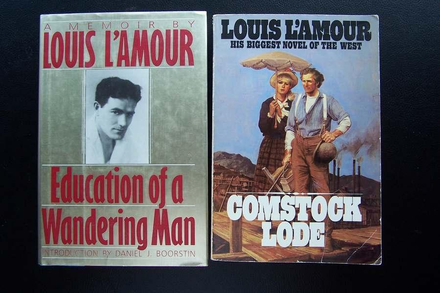 Louis L'Amour Western Adventure Book Lot #5
