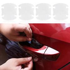 8pcs Transparent Film Protection Poignée Porte Autocollant Adhésif Voiture Auto