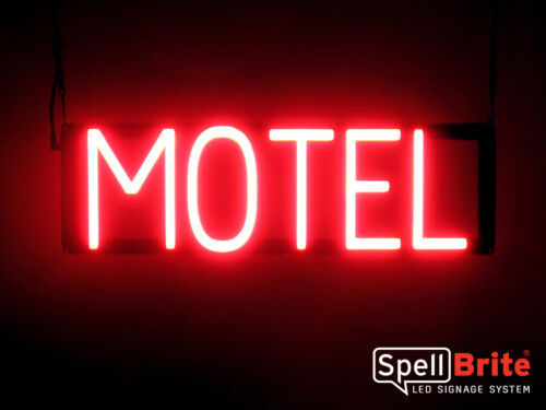 Neon look, LED performance SpellBrite Ultra-Bright MOTEL Sign Neon-LED Sign