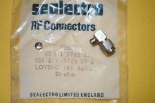 SMA RIGHT ANGLE MALE PLUG FOR RG405/U SEMI RIGID COAX SEALECTRO (x1)  fd7L37
