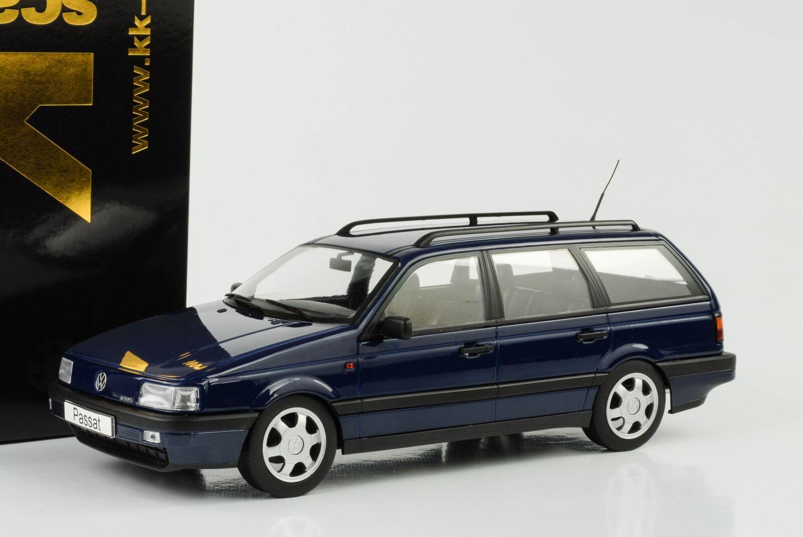 1988 Volkswagen VW Passat b3 vr6 Variant metalizado blu 1 18 KK