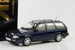 1988-VOLKSWAGEN-VW-PASSAT-b3-vr6-Variant-Blu-Metallizzato-1-18-KK