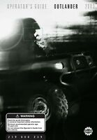 Bombardier Outlander 400, Quad Atv 2003 Owners Manual Bound Book Free Shipping