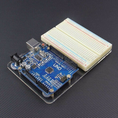 For Arduino UNO Universal Experimental Platform Transparent Clear Acrylic Board