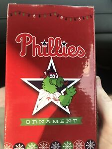 Phillies Christmas In July Giveaway 2020 PHILLIES Phillie Phanatic Christmas In July ornament SGA | eBay