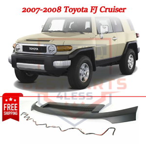 New Hood Molding Trim Moulding Black for FJ Cruiser 07-08 TO1235102 7618035031C0