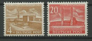 Germany-Berlin-vintage-yearset-1953-Mi-112-113-Mint-MNH-More-Sh-Shop-2