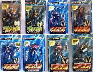 Spawn Youngblood Lot De 8 Figurines Série 1 & 2 Sp-4