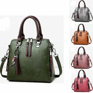 women-039-s-Shoulder-Handbag-Messenger-lady-Tote-Leather-Purse-Satchel-Crossbody-Bag
