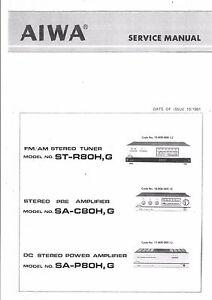 Anleitungen & Schaltbilder Aiwa Service Manual fr ST-R 22 SA-C 22 ...