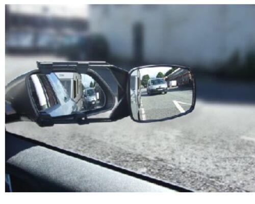 Honda Accord Cívico 2x Caravana Remolque Remolque Espejo Extension Coche Ala Espejos