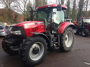 case ih maxxum 100 110 120 115 125 130 140 tractor workshop service