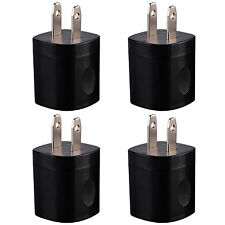 4x 1A USB AC DC Power Supply Wall Charger Adapter For Cell Phone Samsung iPhone